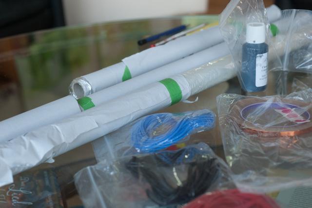 Folien für Staubschutz und Hochton - sowie Bass Pnale getrennt