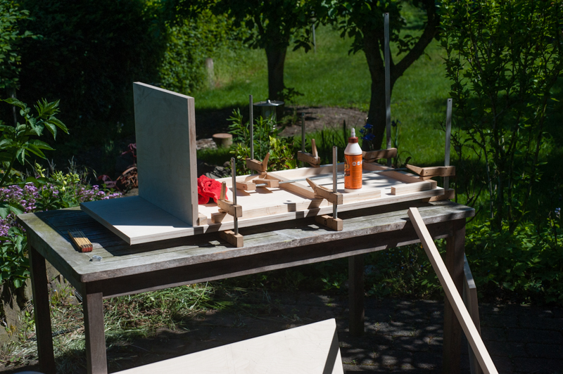 Altec Gehaeuse Neubau erste Schritte
