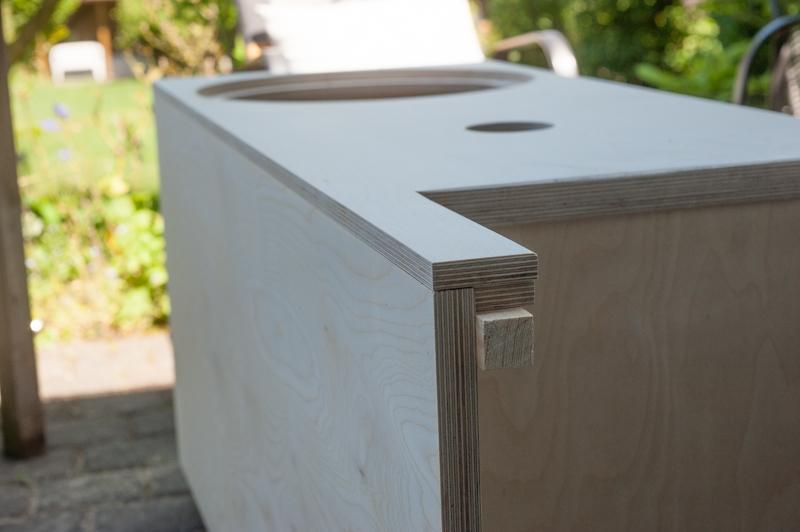 Altec Gehäuse saubere Schnittkanten Holz Hoettcke