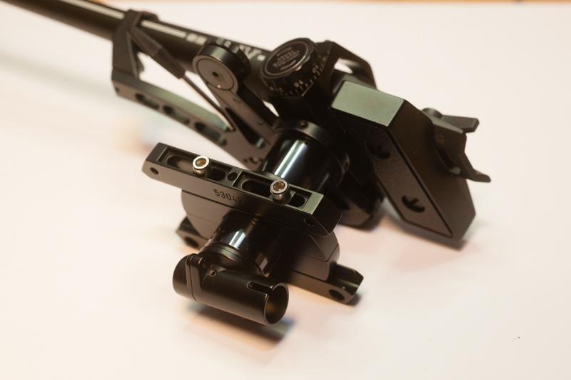 ...der neuaufgebaute noch nicht innenverkabelte SME V - ein fabelhafter Arm