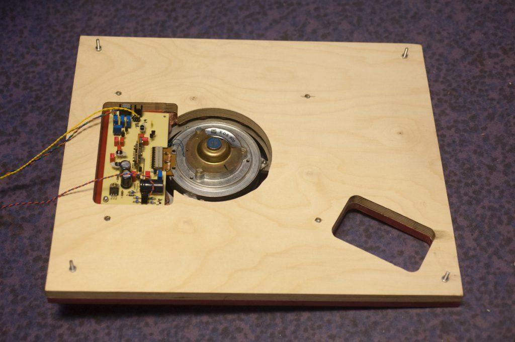 EDS900  Chassisaufbau neue Elektronik