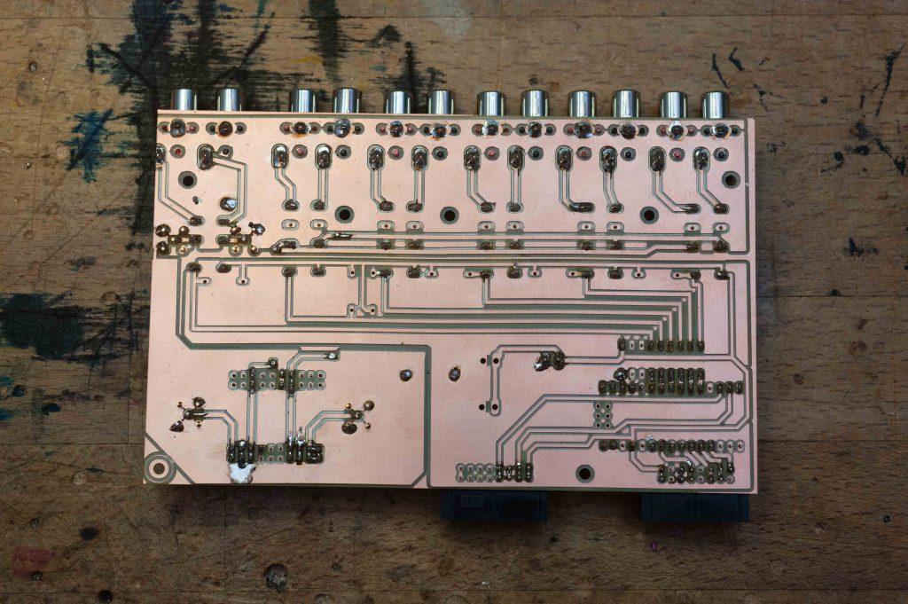 Input module preamplifier Cinch SE