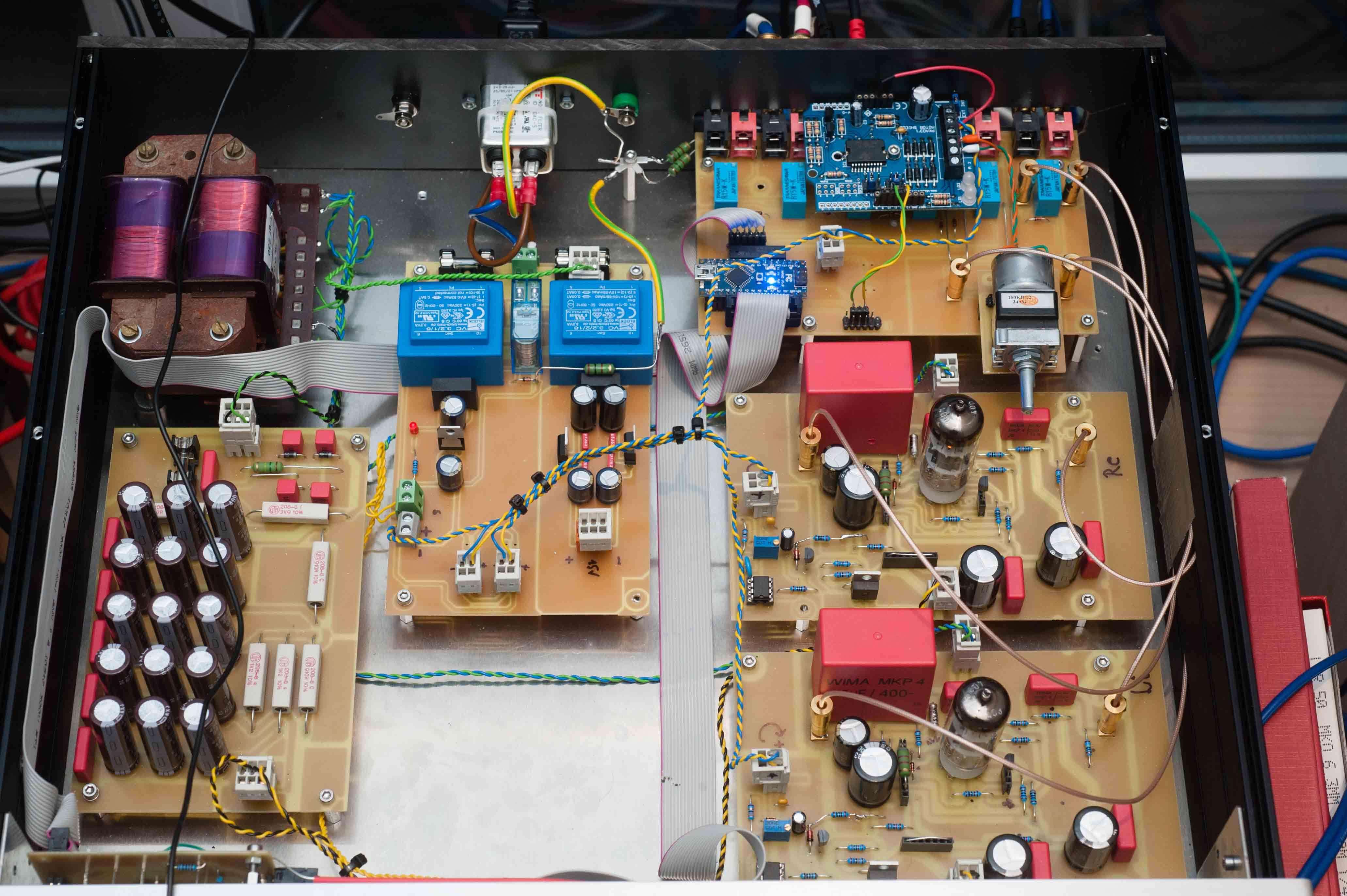 MTA pre-amplifier Bloehbaum overall construction