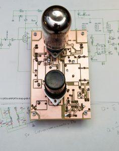 Lötseite des MTA-Amp Modul