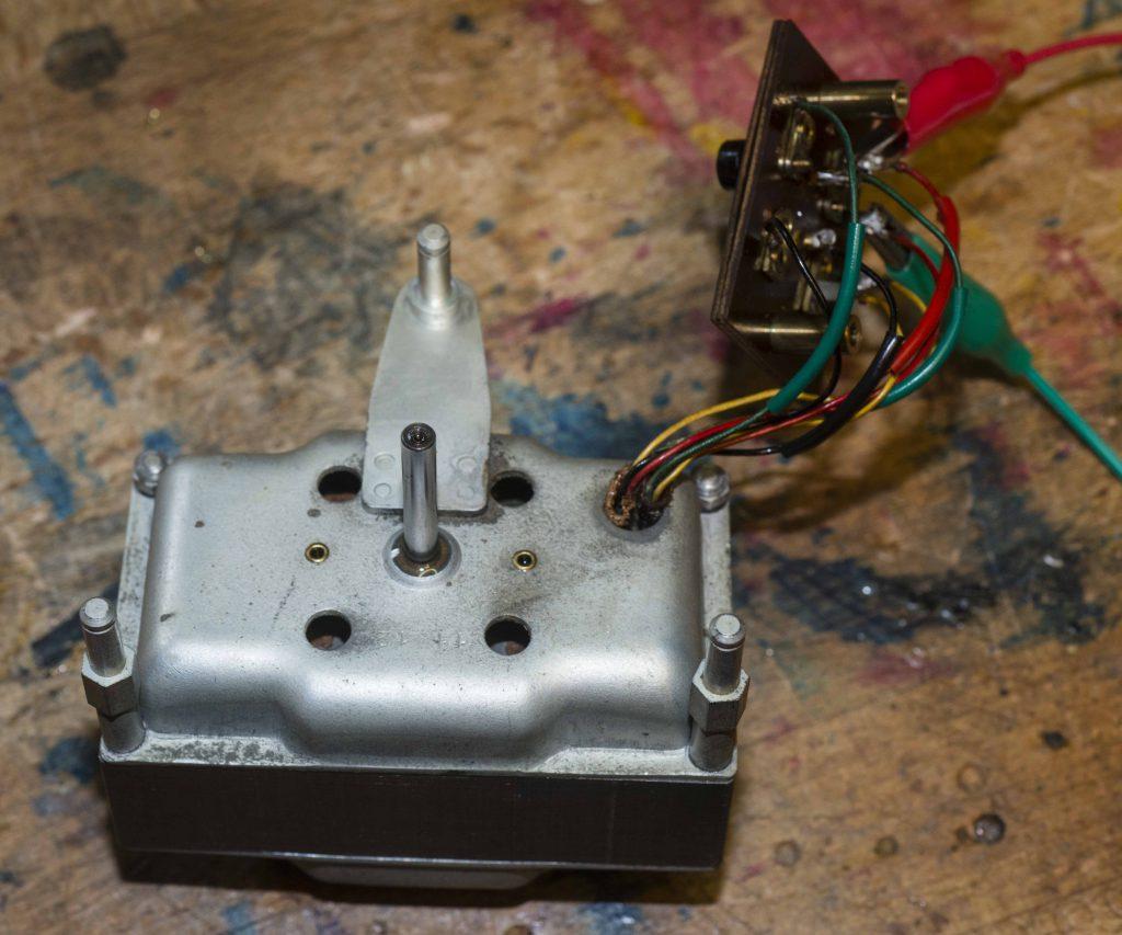 TD124 MK1 Vorbereitung zur Motorreviso
