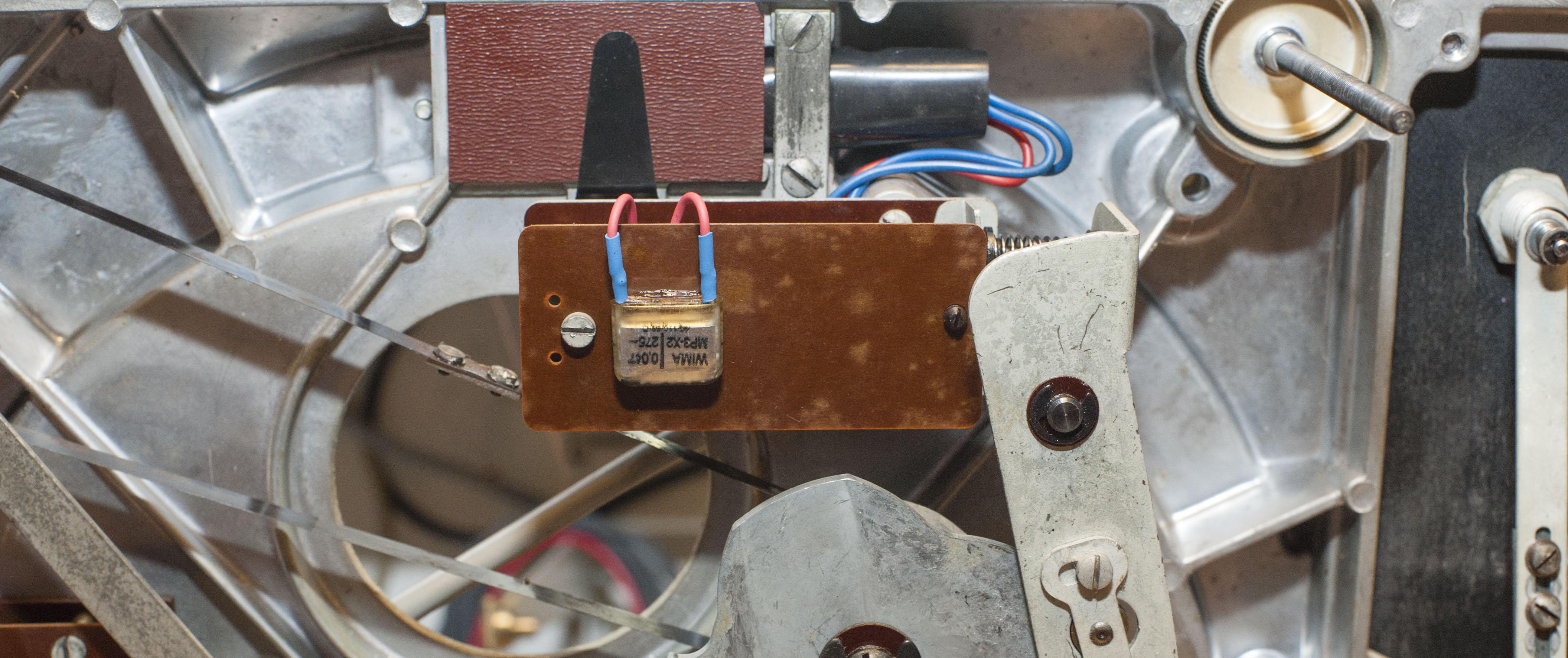Thorens TD 124 Mk1 – Revision Elektronik