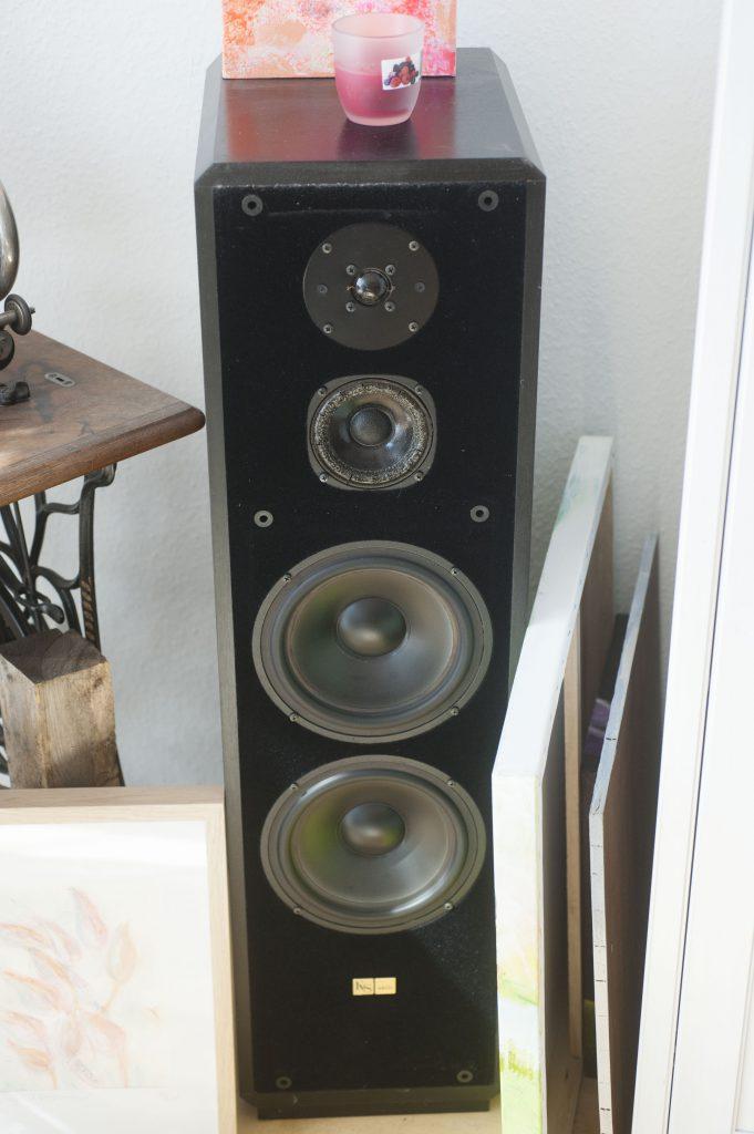 KS Aktiv4 Lautsprecher 80er Jahre 3 Endstufen 2 Basssysteme