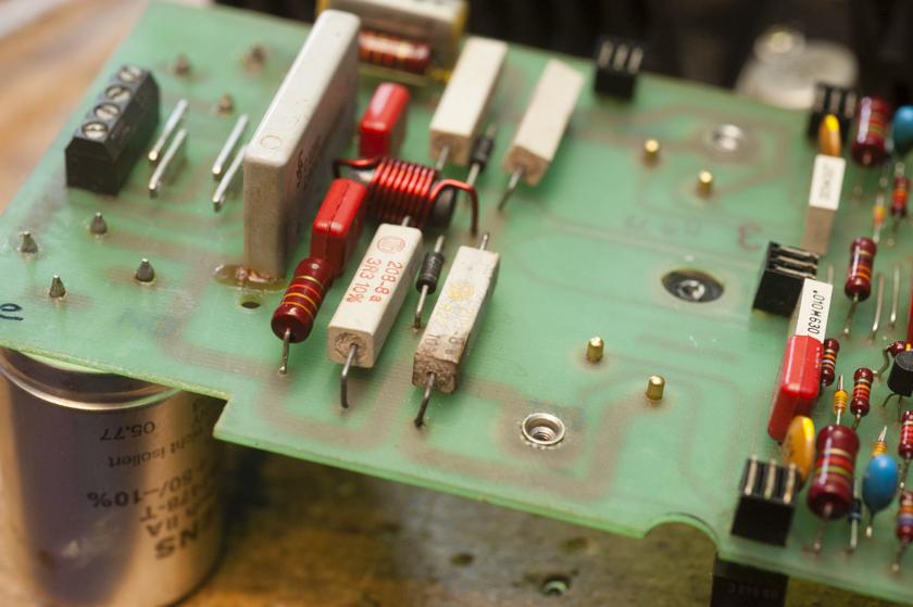 Lastwiderstabd Endstufe B750 alter Gleichrichter