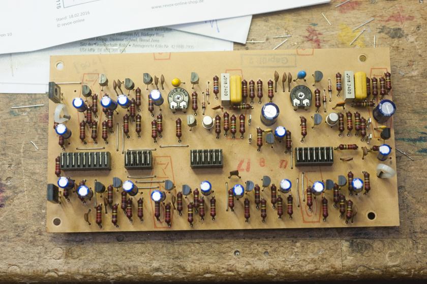 revidierte Inputplatine des B750