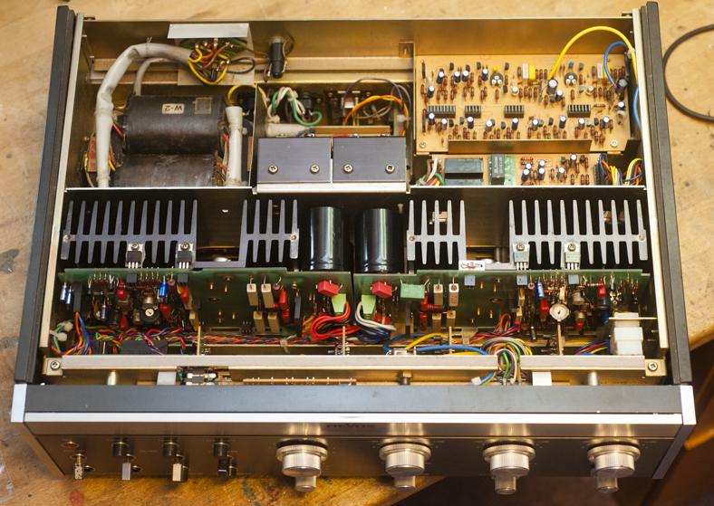 Revox B750 nach Neuaufbau