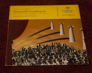 eine der ältesten Platten der Deutschen Grammophon Gesellschaft in meiner Sammlung