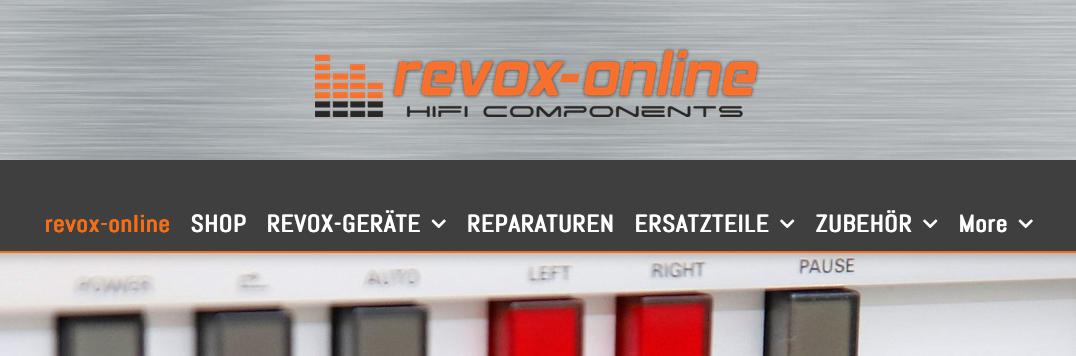 Service grossgeschrieben – Revox-online – Thomas Schröder