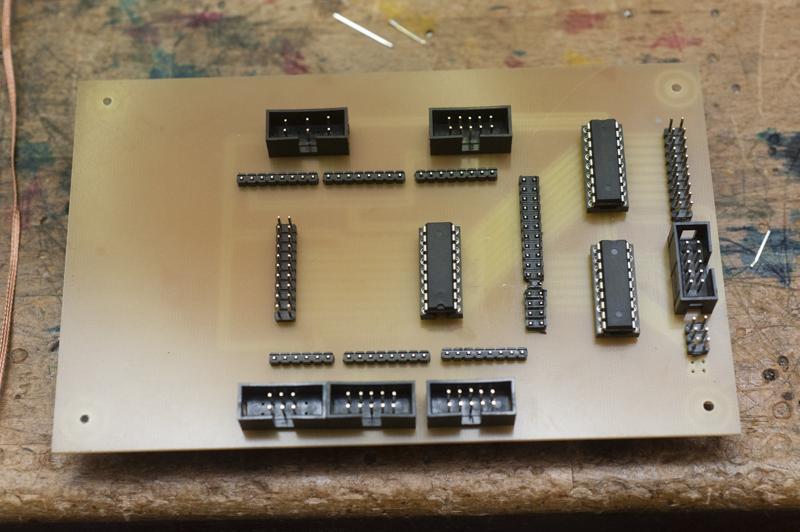 Verteiler Microcontroller Adapterkarte