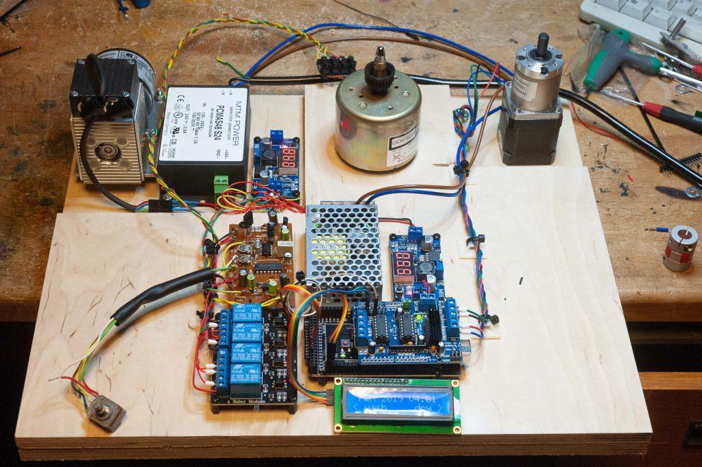 Punktsauger Pumpe Netzteil Getriebestepper