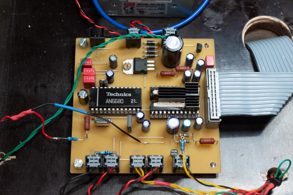 Technics 1200 Controllerplatine