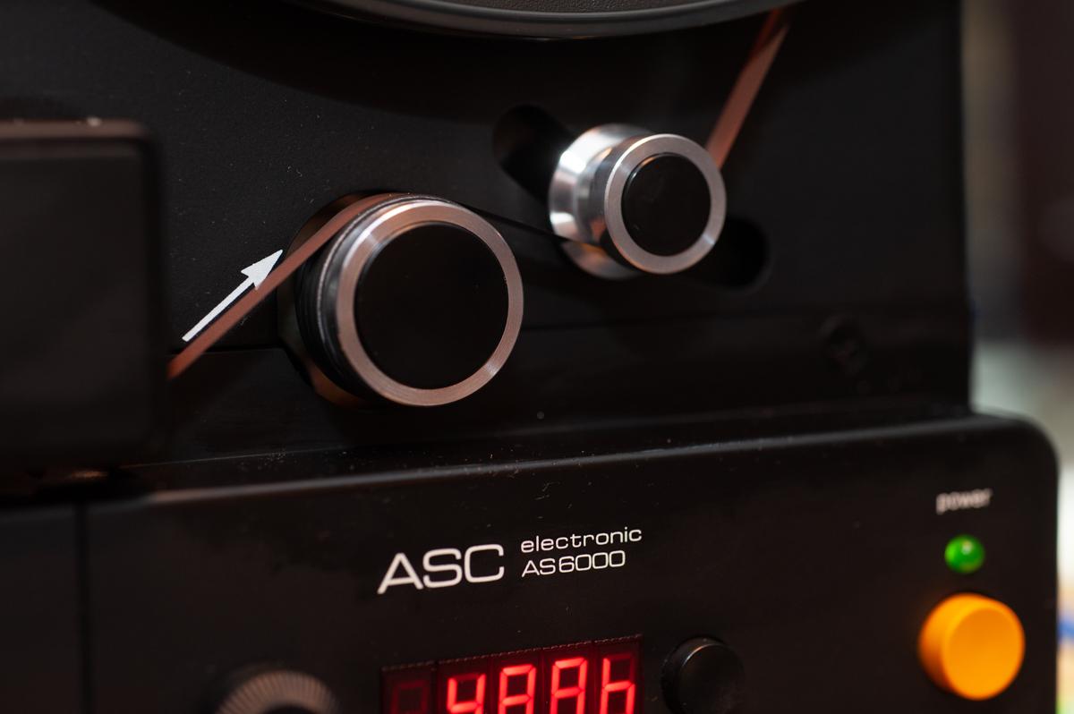 ASC6002 – hochwertige Bandmaschine fast wie neu
