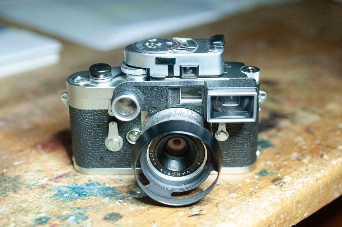 Fotografie und Elektronik – Umbau Leicameter MR